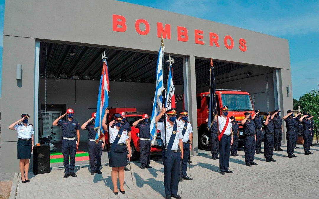 Ministerio del Interior inauguró Destacamento de Bomberos en Carrasco